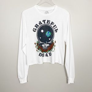 Tops - GRATEFUL DEAD Graphic Band Tee S L Long Sleeve